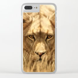 Lioness Clear iPhone Case