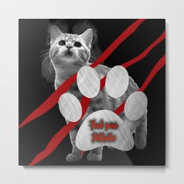 Feed Your Wildside Metal Print