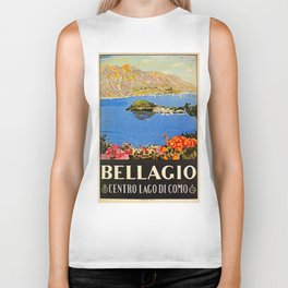 Italy Bellagio Lake Como Biker Tank