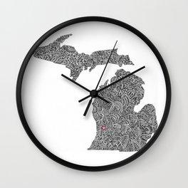 Grand Rapids Wall Clock