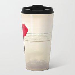 The Red Umbrella Metal Travel Mug