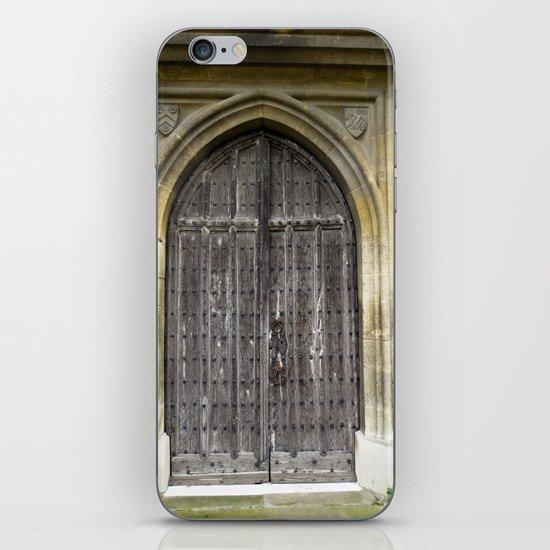 The Church Door iPhone & iPod Skin