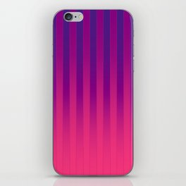 Gradient Stripes Pattern cpp iPhone Skin