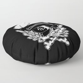 Death Captain Floor Pillow