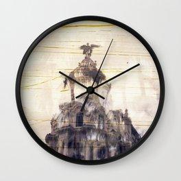 Metropolis building, Madrid Wall Clock