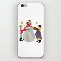 snowman iPhone & iPod Skins featuring Snowman by Design4u Studio