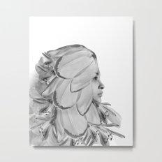 FLOWERGIRL Metal Print