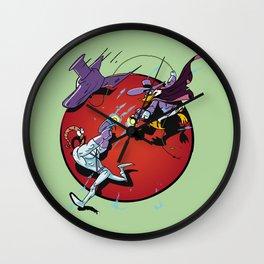 darkwing Jim green Wall Clock