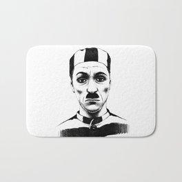 Charlie Chaplin Bath Mat
