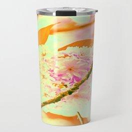 Spring hippy love colors Travel Mug