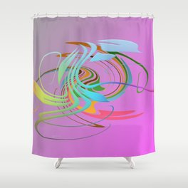 Power and positive energy, 16 Shower Curtain