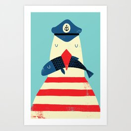 A Sailors Life For Me Art Print