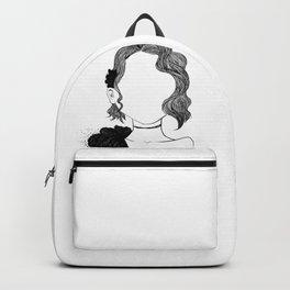 Vintage portrait Backpack