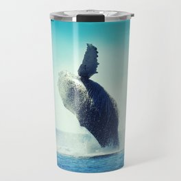 Happy Whale Travel Mug