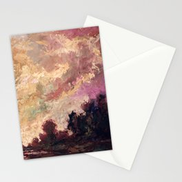 Rosy Clouds Stationery Cards