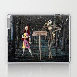 Halloween Town | Jack | Sally | Christmas | Nightmare Laptop & iPad Skin