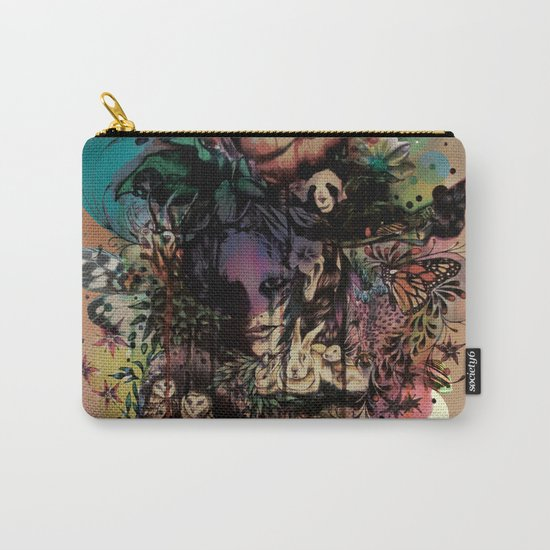 Fauna and Flora Carry-All Pouch