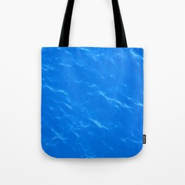 Colors of the Sea Water - Sky Blue Tote Bag