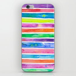 Bright Stripes iPhone Skin