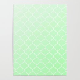 Green Lattice Poster