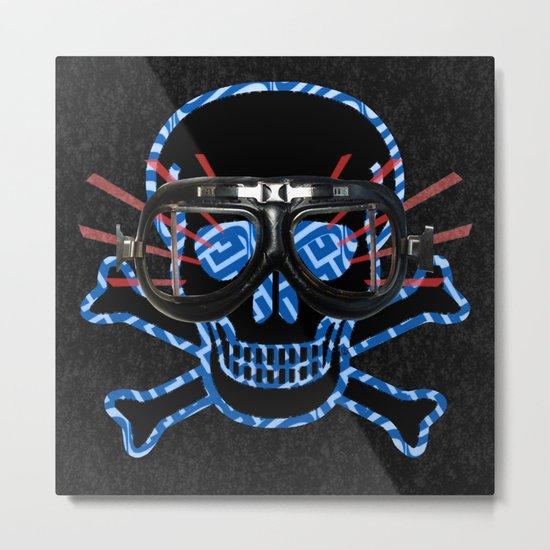 Truckload of Nothing Skull / Hellacopters · GLUECiFER Metal Print