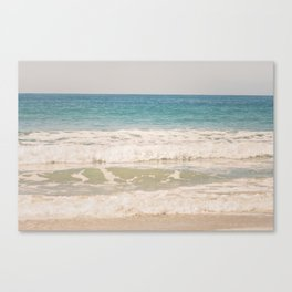 Beach Waves Canvas Print