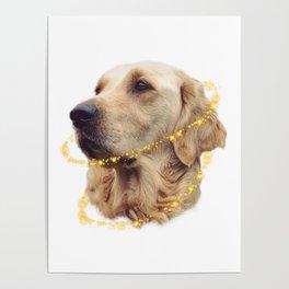 Angelic Doggo Poster