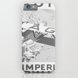 retro Plakat India by Imperial iPhone Case