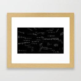 Mathspace - High Math Inspiration Framed Art Print