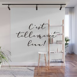 It's so beautiful French Quote Black and White Home Decor Wall Mural