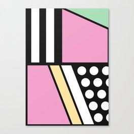 Geometric Calendar - Day 10 Canvas Print
