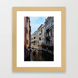 Venice the city of Canals Framed Art Print