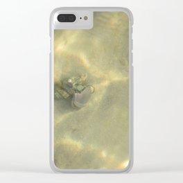 Underwater Love Clear iPhone Case