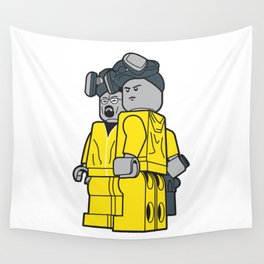 Breaking Bad Lego Characters Wall Tapestry