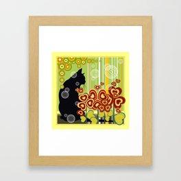 Cat's soul Framed Art Print