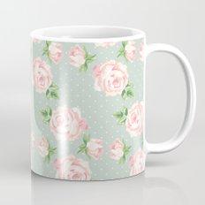 Vintage Roses Pattern Mug