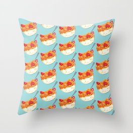Cereal Pattern Throw Pillow