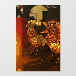 Metal Birds Canvas Print