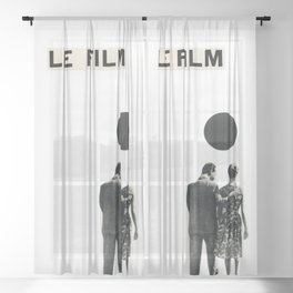 Le Film Sheer Curtain