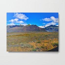 Svínafellsjökull Glacier Outlet in Southern Iceland (3) Metal Print