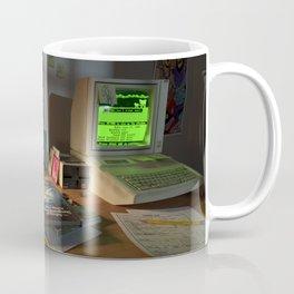 80s Nerd Desk Still Life Coffee Mug