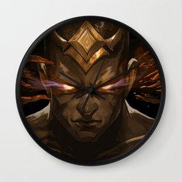 God Fist Lee Sin Promo Wallpaper Official Artwork League of Legends lol Wall Clock