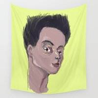 boy Wall Tapestries featuring Boy by Ercan Sert