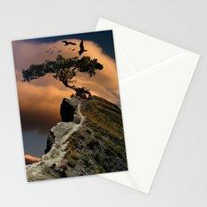 mystic tree Stationery Cards