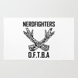 The Nerdfighter symbol Rug