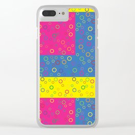 Tiny Bubbles Clear iPhone Case