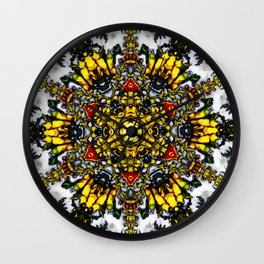 The Tower Of Flowers Wall Clock