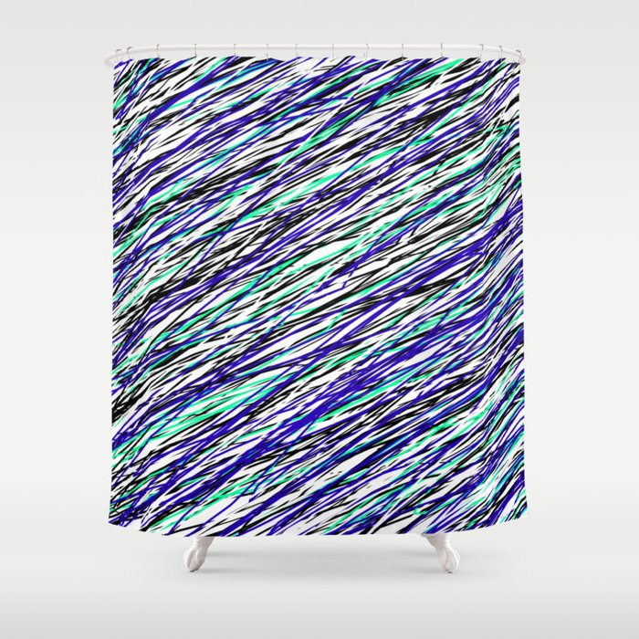 Seahawk Pride Shower Curtain