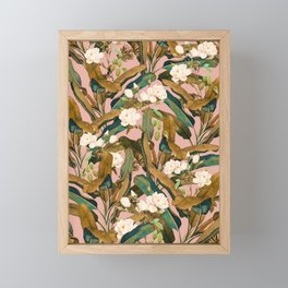 Summer Botanical Garden V Framed Mini Art Print