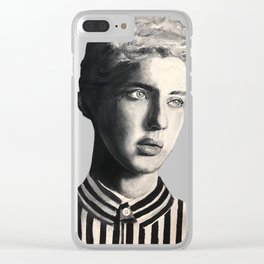Troye Sivan Painting Clear iPhone Case